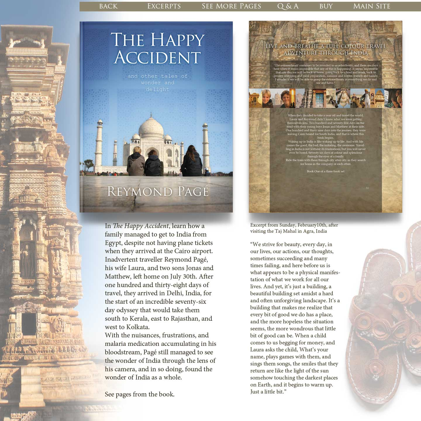 india book page